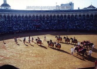Plaza de toros en Pamplona