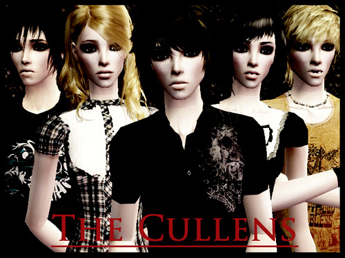 The Cullens-Sims 2 by aylabred.