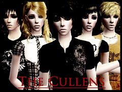 The Cullens-Sims 2 by mynameisCHEENEE