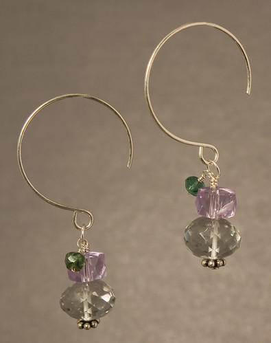 Monet earrings hanging