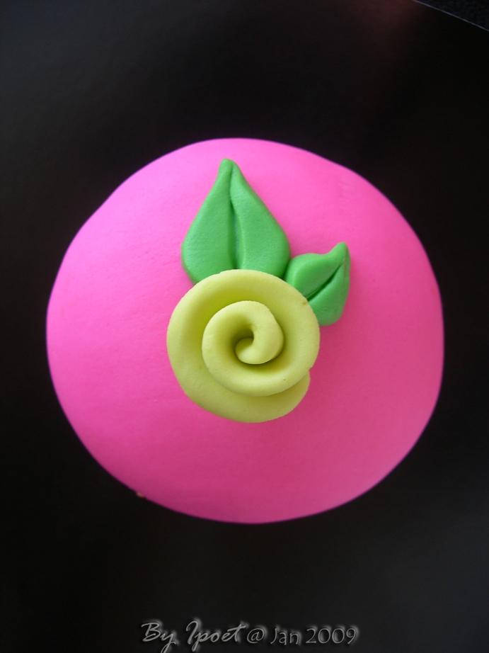 Pinky Cupcake