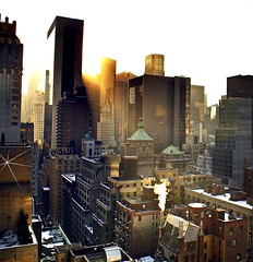 58th st, dawn (enuf_alredy) Tags: nyc dawn 58thst theunforgettablepictures january2009