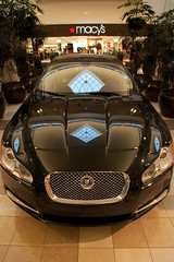 Jaguar XF at the Mall (Steve Rhode) Tags: leather sedan jaguar luxury xf keyless jaguardrive sequentialshift jaguarsense