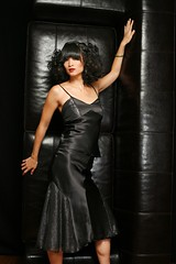 Black Silk Charmeuse Camisole and Skirt (Bobbins and Bombshells) Tags: handmade etsy satin silkcharmeuse thesparklingcocktail bobbinsandbombshells