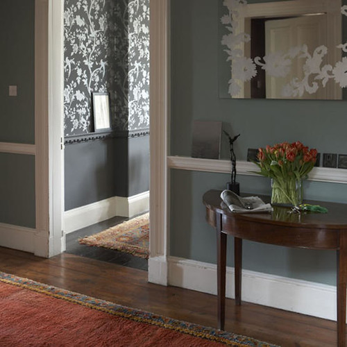 HALF MOON CONSOLE TABLE : CONSOLE TABLE