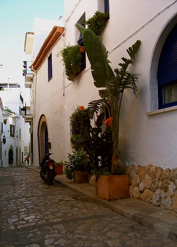 street in sitges