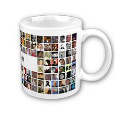 Twitter Mosaic Mug