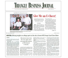 Buster Sports - Triangle Business Journal (bustersports) Tags: rome college fan acc media state fark volunteers sportsillustrated gators seminoles duke huskies arena gameday national longhorns tigers lions tailgate conference buster sucks rosebowl coed sec ncaa buckeyes bulldogs chapelhill unc rivals cbs trojans espn wolfpack wral sugarbowl bcs tarheels gamecocks wildcats wolverines orangebowl insider collegebasketball deacons jayhawks recruit fiestabowl cavaliers tipoff firestarter spartans sportscenter finalfour big10 big12 bigeast pac10 wfan studentsection davenathan danballard capitolbroadcasting bustersports trianglebusinessjournal jimgoodmon