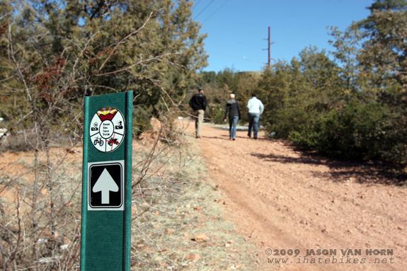 Payson, Arizona multi-use trails. Less than desirable for mountain biking.