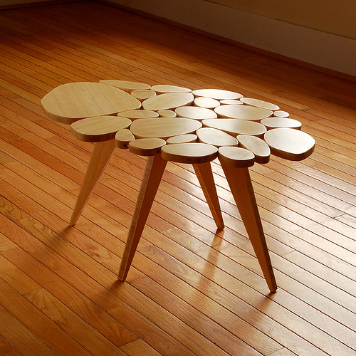 Medium Table, Bamboo