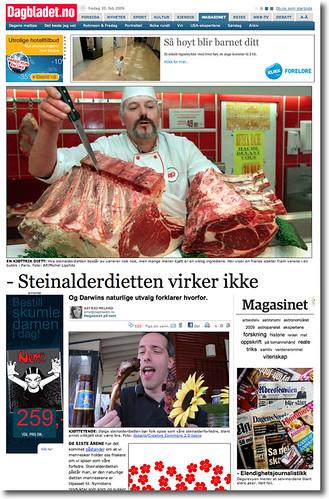 Dagbladet.no - Steinalderdietten virker ikke