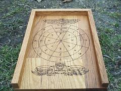 Viking Rune Casting Board (dragonoak) Tags: nordic celtic viking runes futhark asatru diviniation castingboard