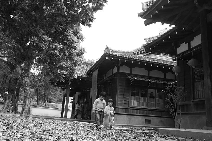 嘉義市史蹟資料館(黑白)15