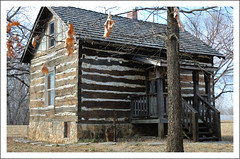 1856 Gerth Cabin - Greeley, Kansas