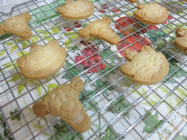 Tigger and Marie Butter Cookies