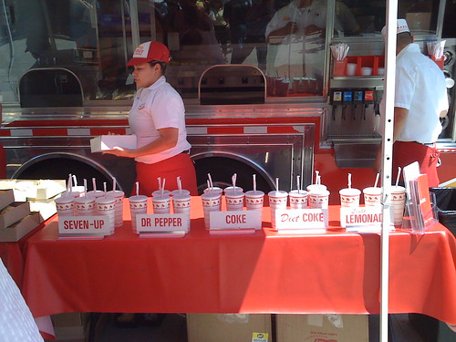 When Love Comes To Town Yesterday An In N Out Truck Pulled Up Next