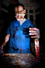 Carnfunnock Surgeons (Mr Bultitude) Tags: hospital death promo blood grim knife assault medical horror murder ghosts bloody doctors operation victims brutal redrum surgeons gruesome scrubs larne killings cairndhu carnfunnock disusedhospital sirthomasandladydixon