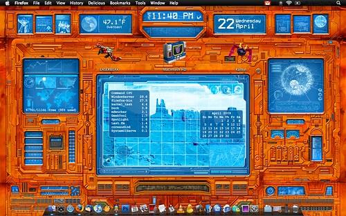 Teletraan-1 OS X Desktop