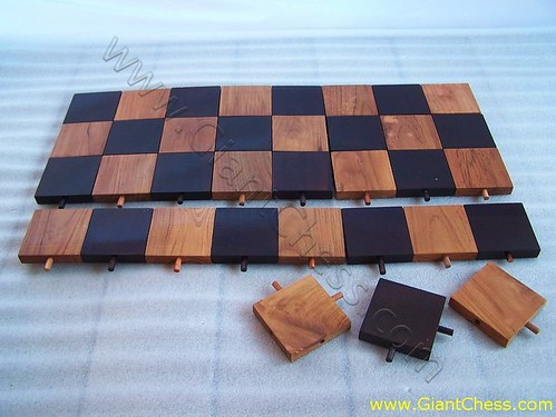 how to make a chess board out of wood