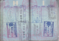 Passport H I () Tags: chile brazil peru brasil per stamp passport visa pasaporte sello