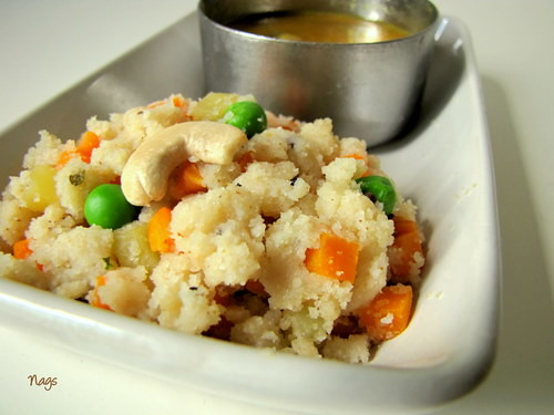 Vegetable Rava Upma Recipe-Easy Rava Upma Recipe