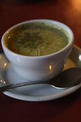 Dutch Garden - broccoli cheddar soup