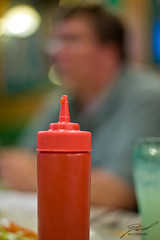 Ketchup on the Table