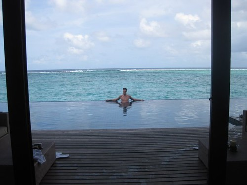 Le vacanze di Cosmin Petre alle Maldive. by you.
