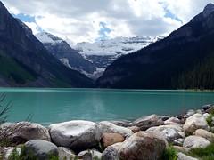 Lake Louise, Banff NP (thmphoto) Tags: blue lake canada mountains water alberta banff lakelouise banffnationalpark
