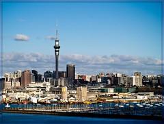 Ahhh Auckland (EssjayNZ) Tags: city newzealand tag3 taggedout tag2 tag1 auckland skytower essjaynz 2009 picnik taken2009 sarahmacmillan