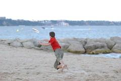 DSC_0392 (turni) Tags: sea beach frisbee bournemouth sandbanks ultimatefrisbee