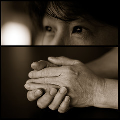 My Mother's Love (michaeljosh) Tags: love sepia mom eyes hands diptych poetry bokeh mother depthoffield happybirthday motherhood duotones nikkor50mmf14 project365 explored nikond90 dipitthursday
