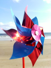 Hello Mr. Pinwheel! (aisforaoife) Tags: summer beach pinwheel tramore