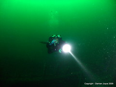 Michael on the Laurentic (damoj5) Tags: inon fujif40 laurentic donegaldiving