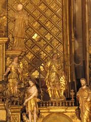Villefranche-de-Rouergue: Statuettes of the High Altar of Les Pénitents Noirs (cefran_other) Tags: bastide rouergue chapelledespénitentsnoirscounterreformation villefranchederouergueaveyron