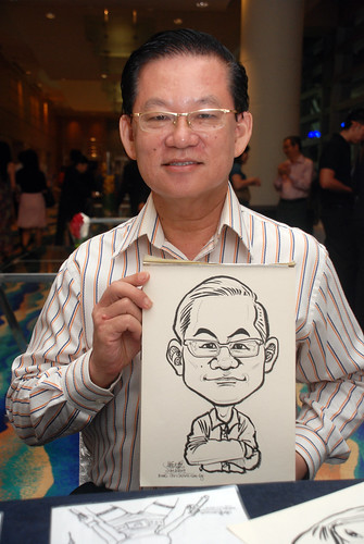 Caricature live sketching for SMC Teachers'Day D&D 2009 - 9
