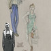 Reader Ann Roth costume sketch