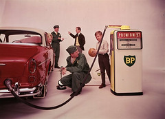 BP Volvo Amazon (BRIGHT Creatives) Tags: station volvo amazon 60s bright petrol bp creatives premium 97 twotone volvoamazon p121 britishpetrol brightcreatives