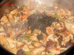 Noodles de teriyaki con kombu-añadir algas