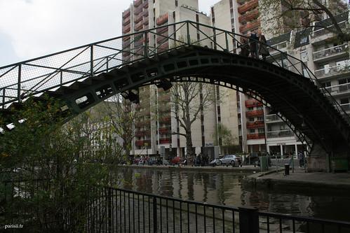 Passerelle du Canal Saint-Martin
