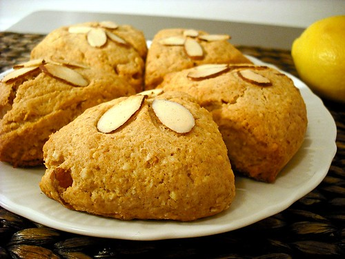 Whole Wheat Almond Scones