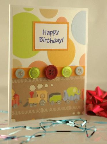 Handmade Cards For Boys. Handmade Birthday Card
