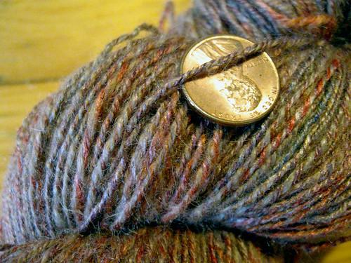 3ply 50/50 camel/tussah silk