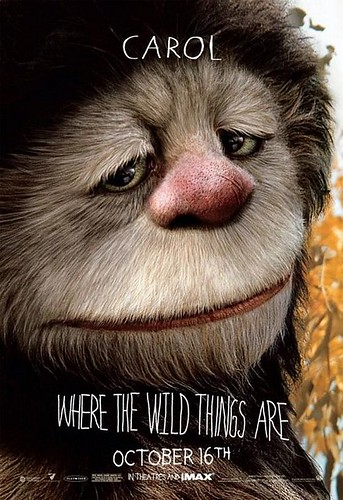 Where The Wild Things Are Character Poster Carol