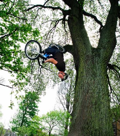 Danny MacAskill in Action - Foto DannyMacAskill.co.uk