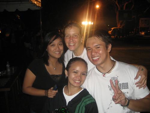 Andrea, Jennifer, Elma & Me