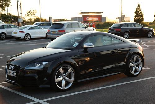 Audi Tt Rs Coupe Black