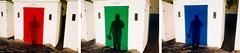 RGB tryptic (lomokev) Tags: shadow sea holiday color colour beach sand nikon devon beachhut agfa ultra woolacombe agfaultra nikonos deletetag nikonosv nikonos5 nikonosfive roll:name=090923nikonosandunknownultra woolacombebeachhut file:name=090923nikonosandunknownultra3031