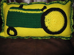 John Deere Pillow to go with JD Ghan