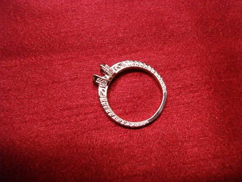 American Set Co Antique Ring Setting